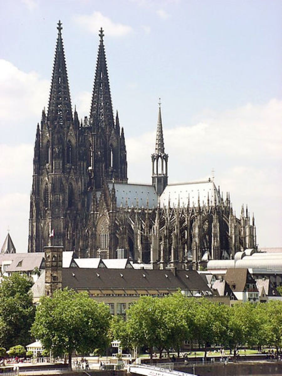 Cathedral in Cologne, Germany.