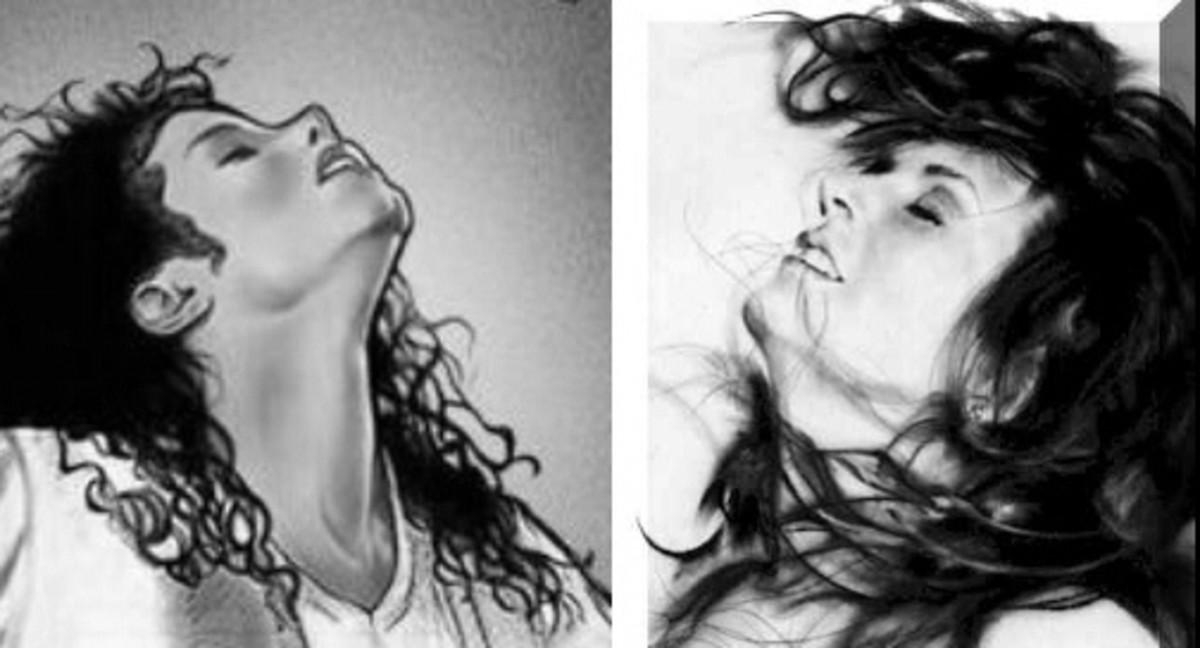 "Michael by Mimi O' Garren, ""Luna"" by James R. Griffin"