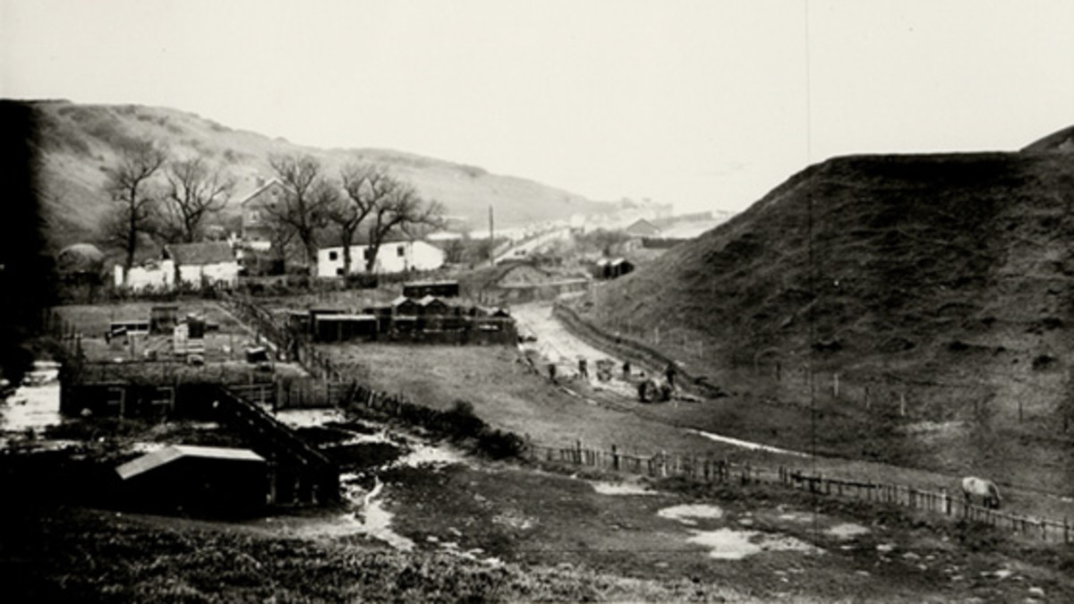 And what was there before 1911 -  Tucker's Field behind the North Bay