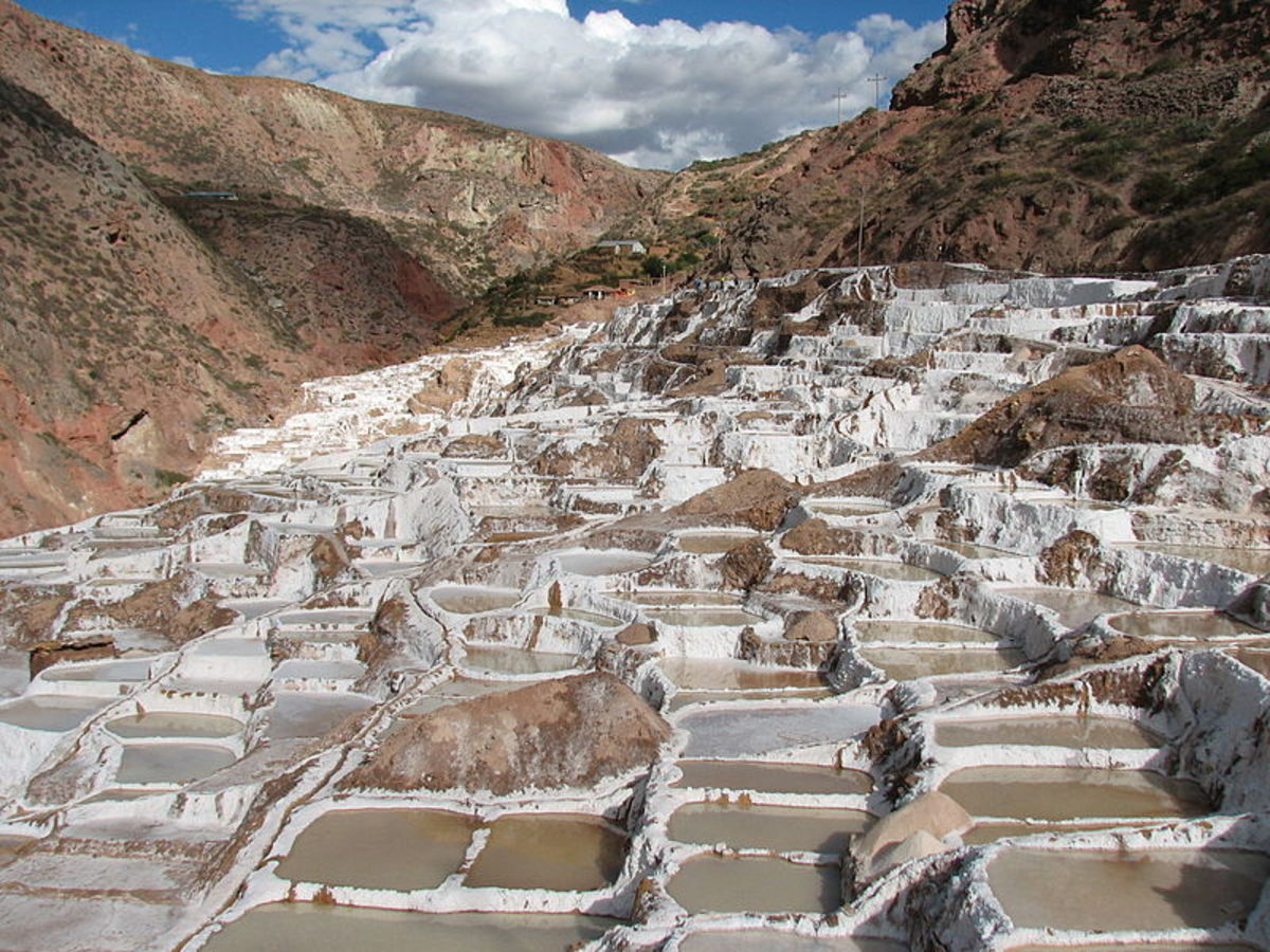 Salt of Maras: The Purest Salt in the World
