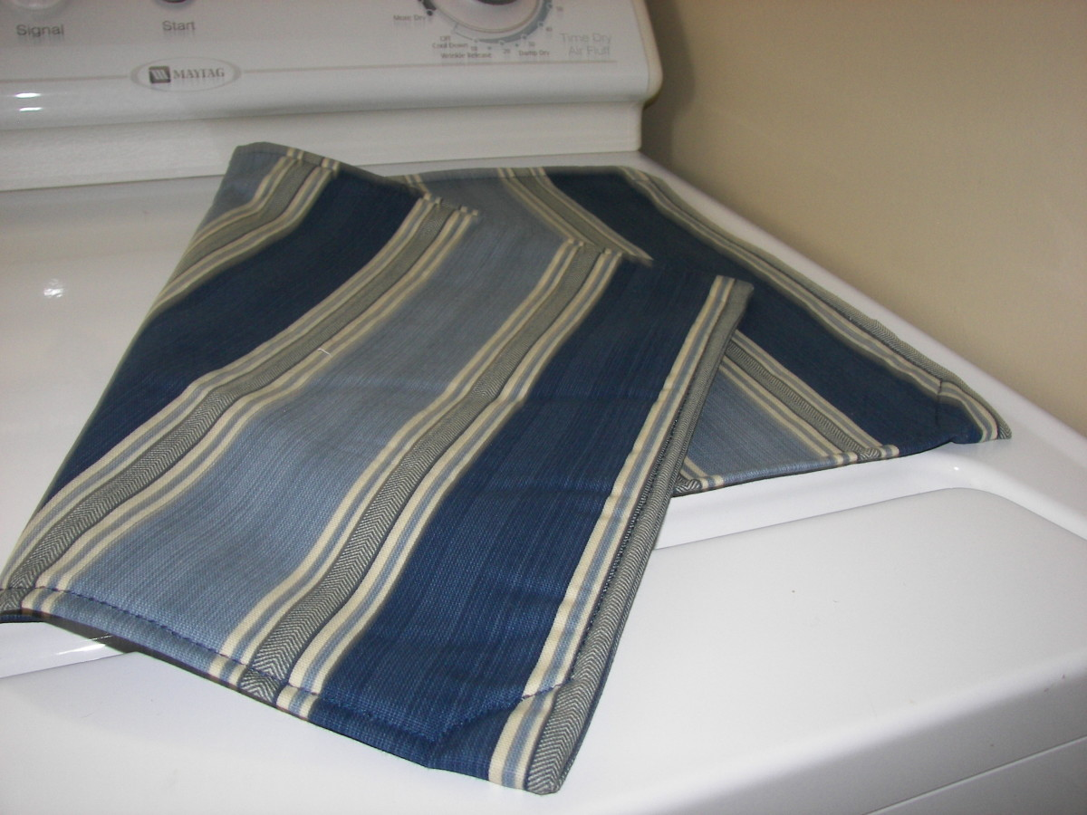 Magnetic Laundry Room Place Mat for Clothes Dryer