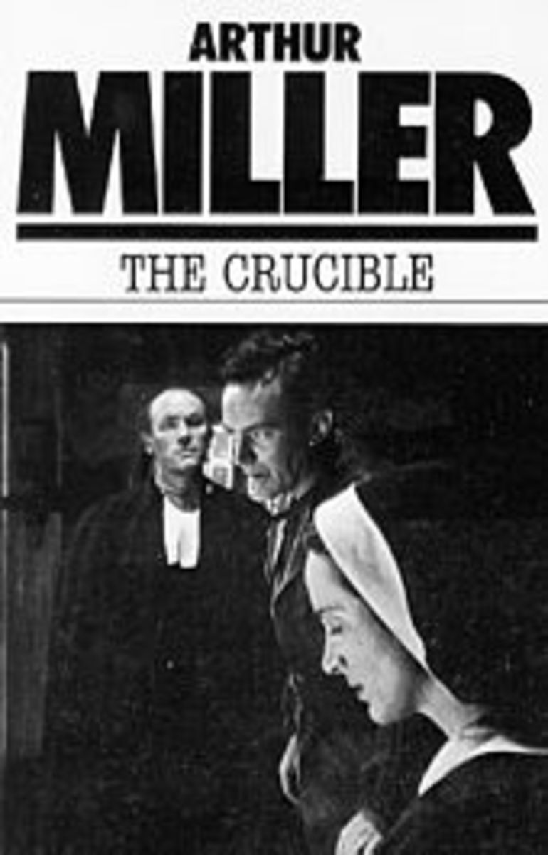 the symbolism of black in the crucible by arthur miller The crucible is a 1953 play by american playwright arthur miller it is a dramatized and partially fictionalized story of the salem witch trials that took place in the massachusetts bay colony during 1692/93.