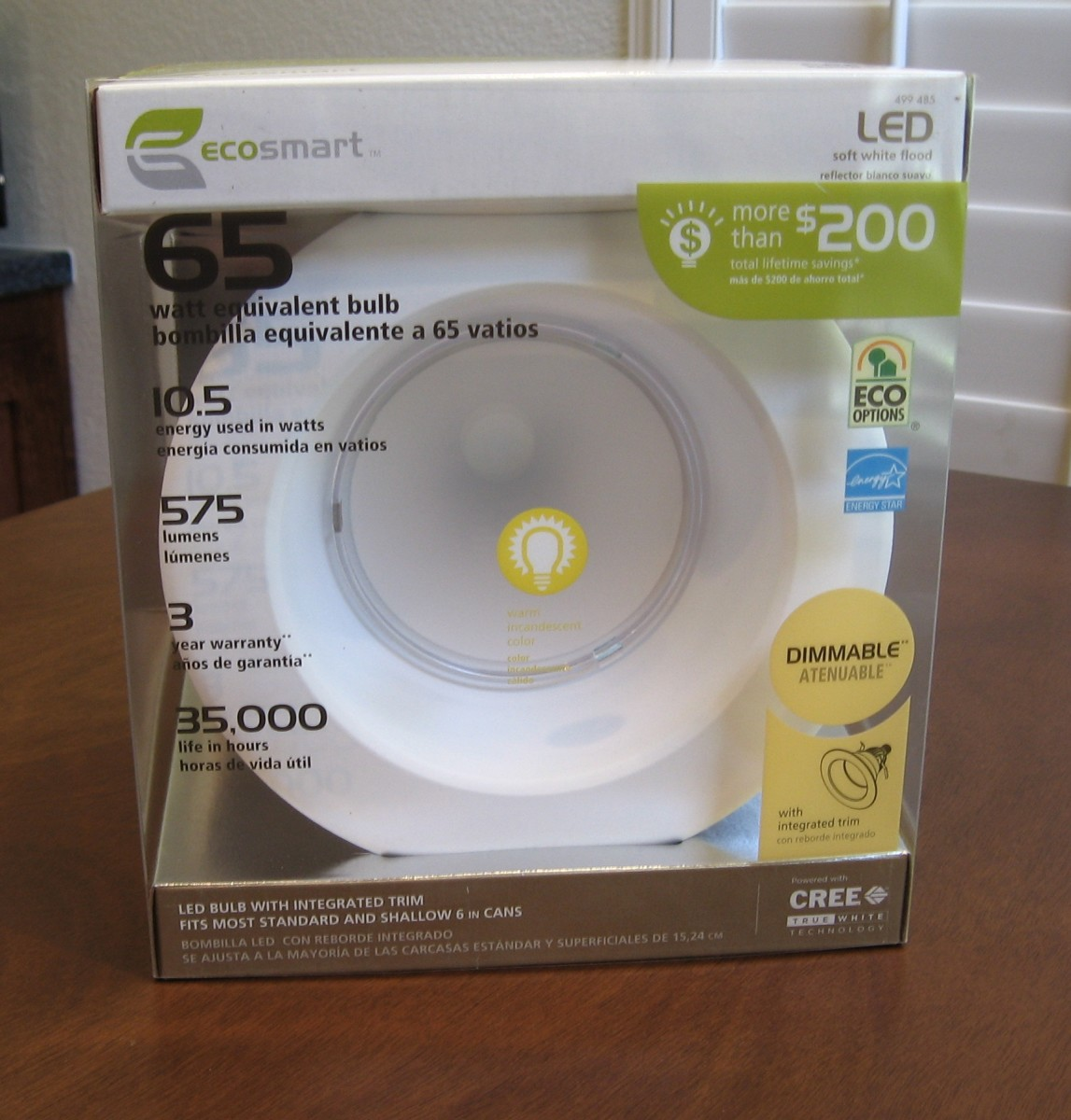 "EcoSmart 6"" Downlight Model # ECO-575L"