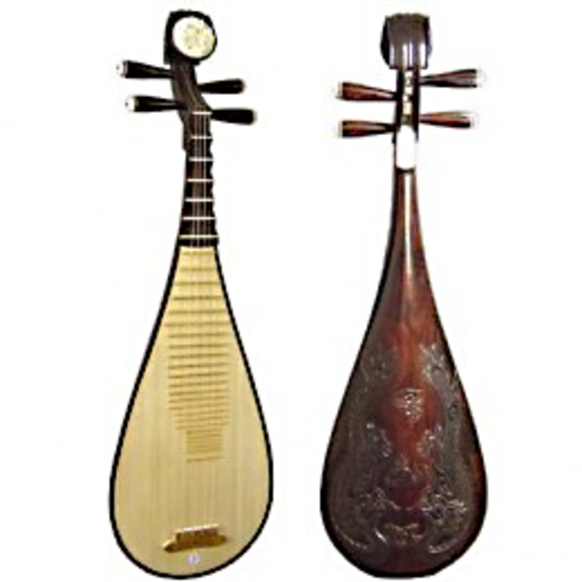 Traditional Chinese Pipa (from the hub, Traditional Chinese Musical Instruments)