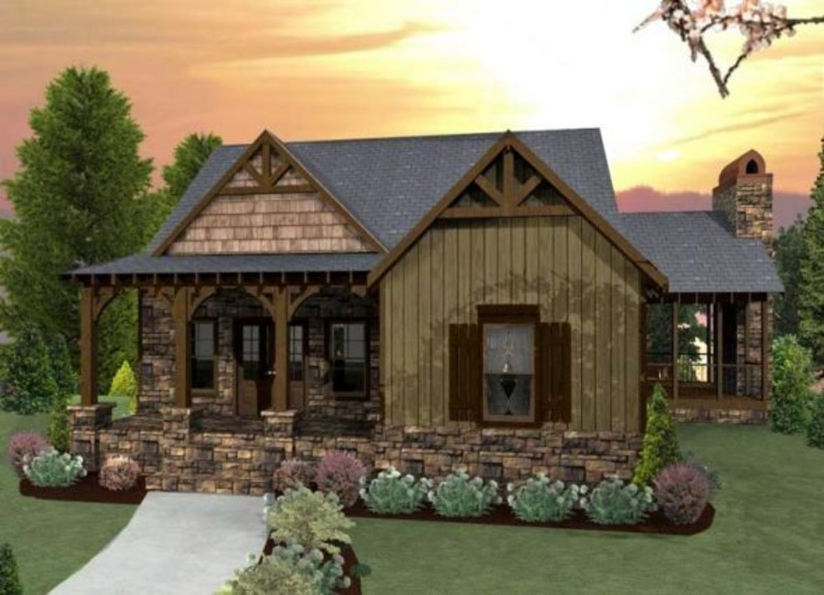 craftsman style cottage house plan