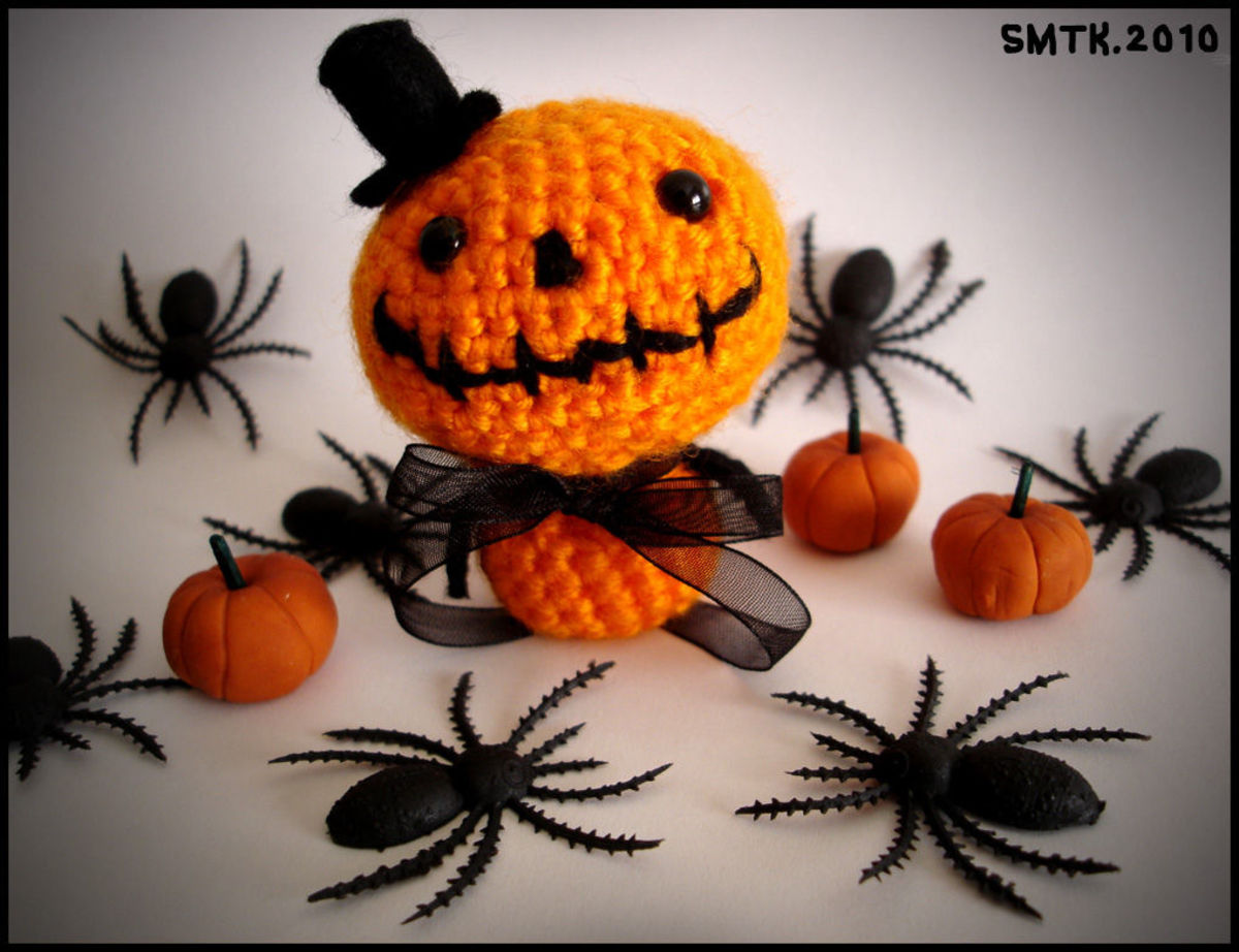 free crochet patterns for halloween