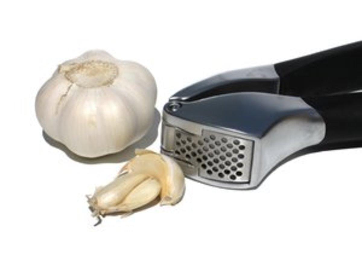 Garlic ads taste
