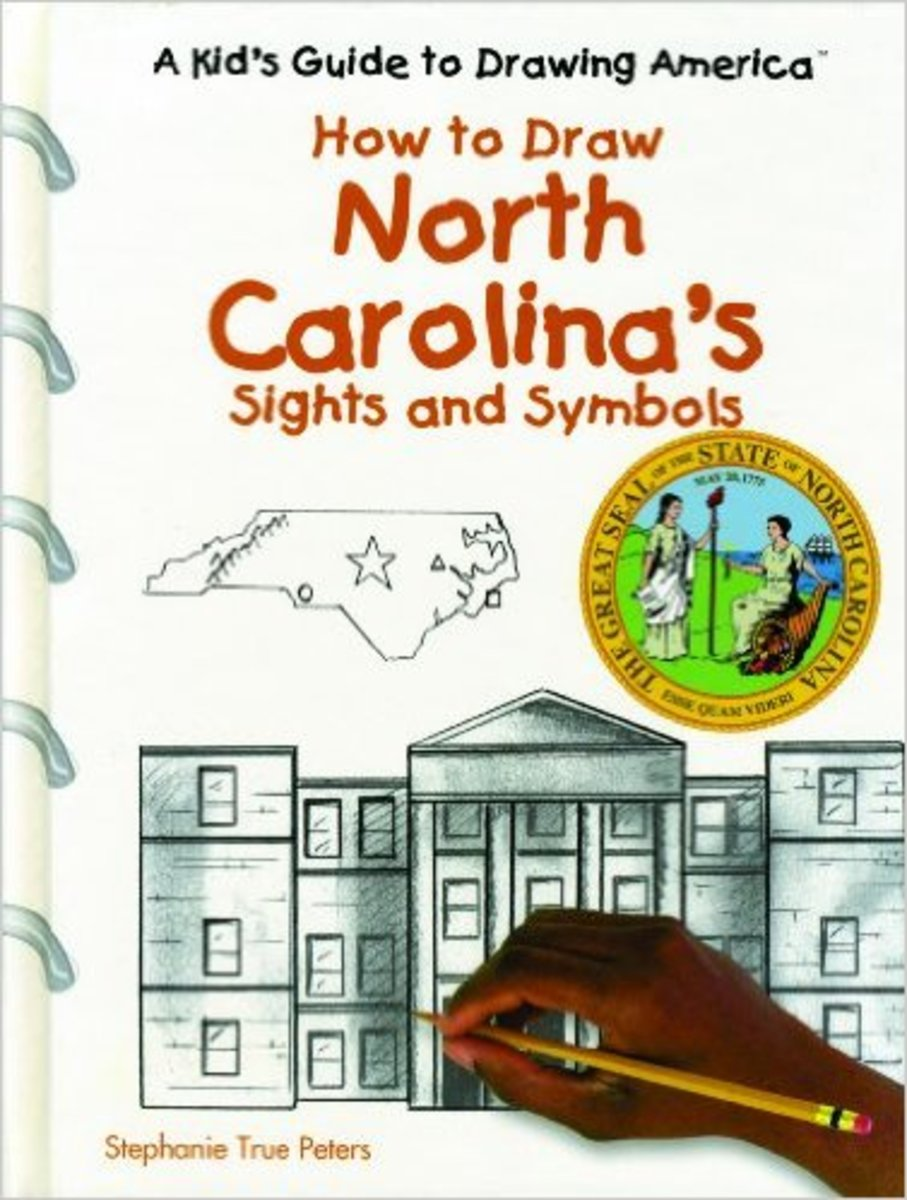 North Carolina's Sights and Symbols (Kid's Guide to Drawing America) by J. Katlin