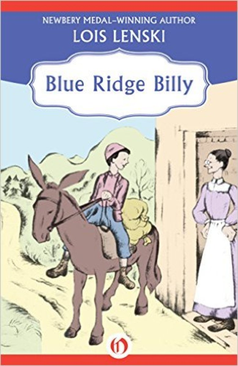 Blue Ridge Billy by Lois Lenski - Image credits: amazon.com