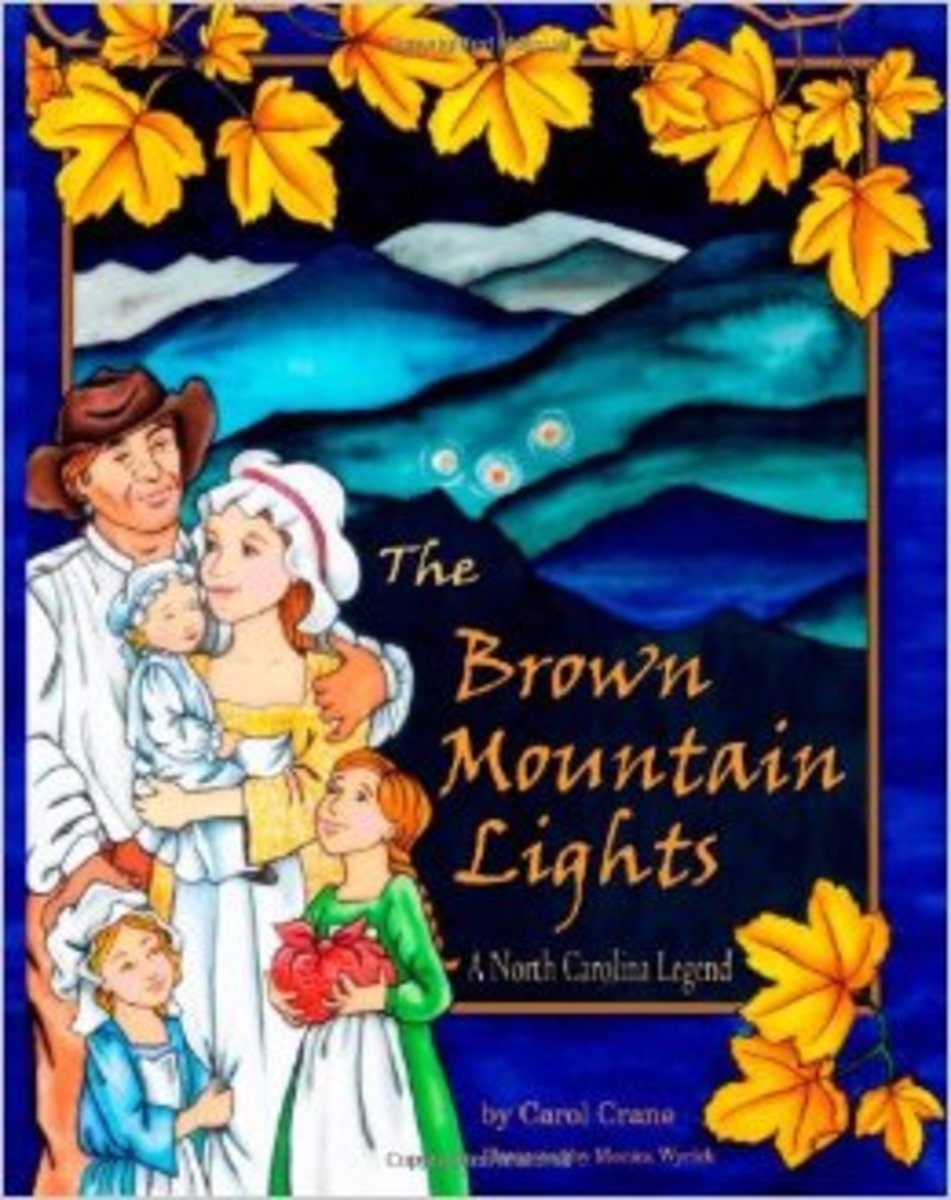 The Brown Mountain Lights, A North Carolina Legend by Carol Crane