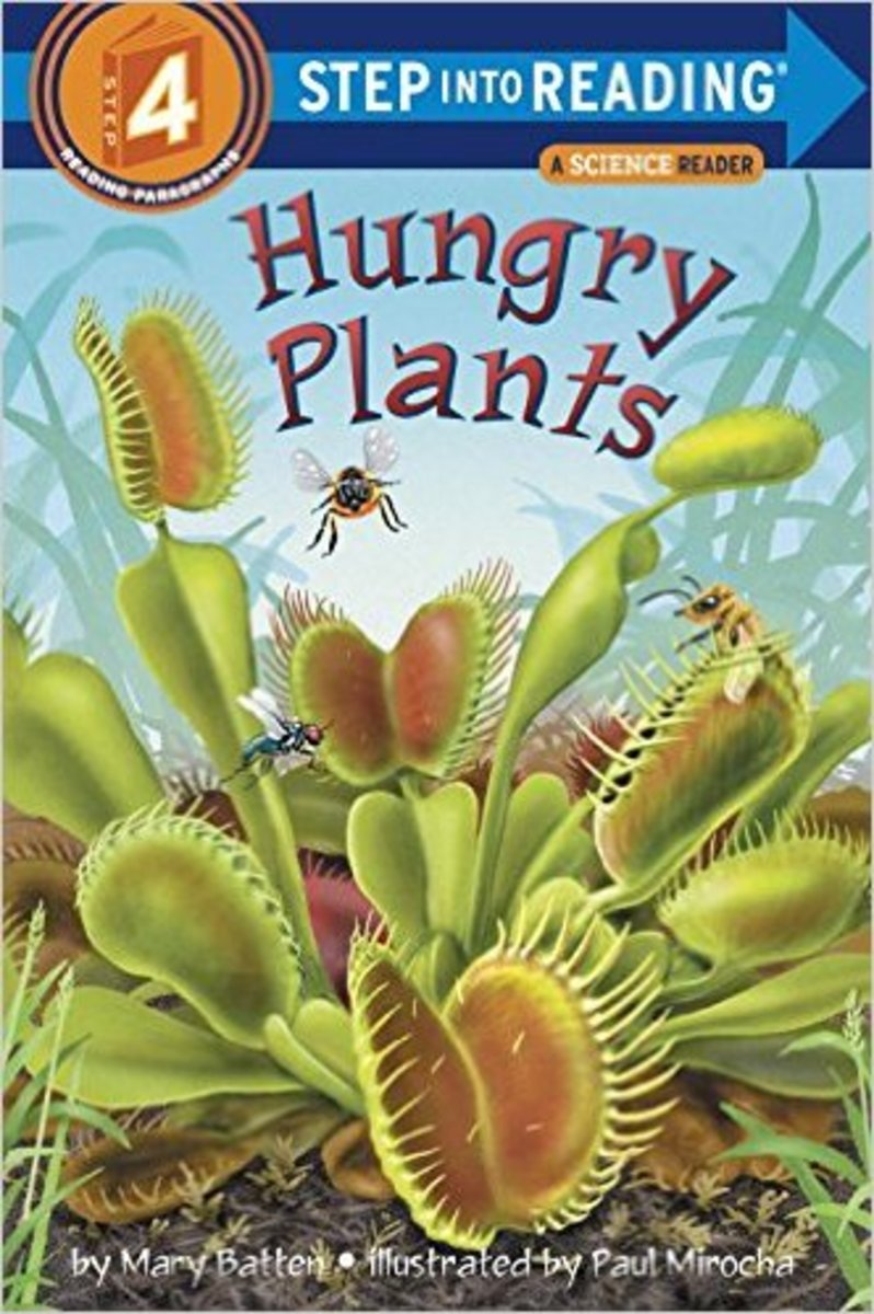 Hungry Plants (Step-into-Reading, Step 4) by Mary Batten
