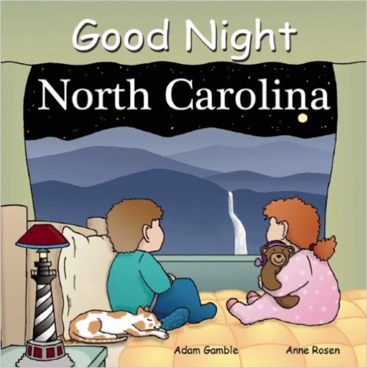 Good Night North Carolina (Good Night Our World) Board book by Adam Gamble - Image credit: amazon.com