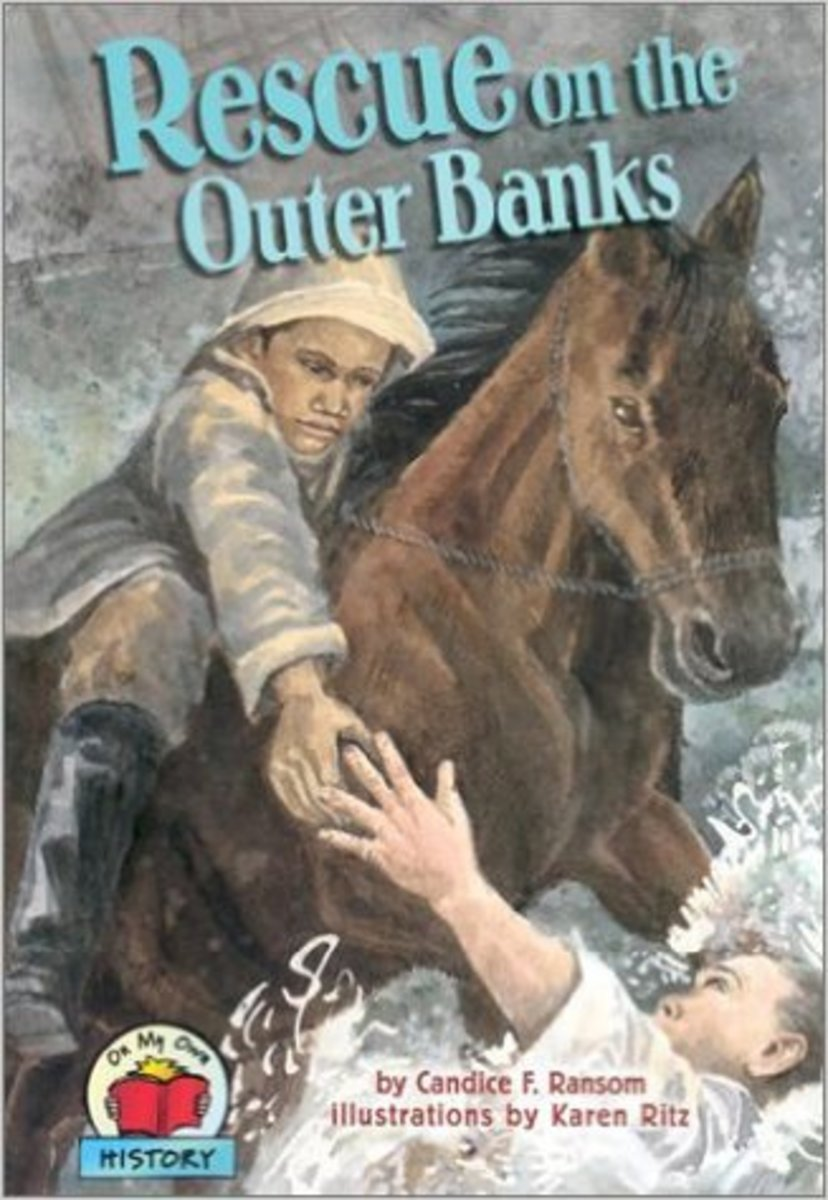Rescue on the Outer Banks (On My Own History) by Candice F. Ransom