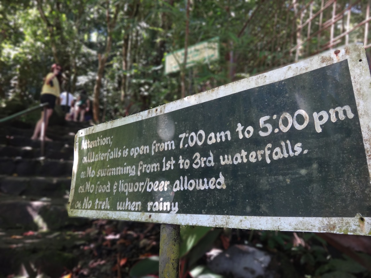 Some additional reminders from the Mambukal Resort Management