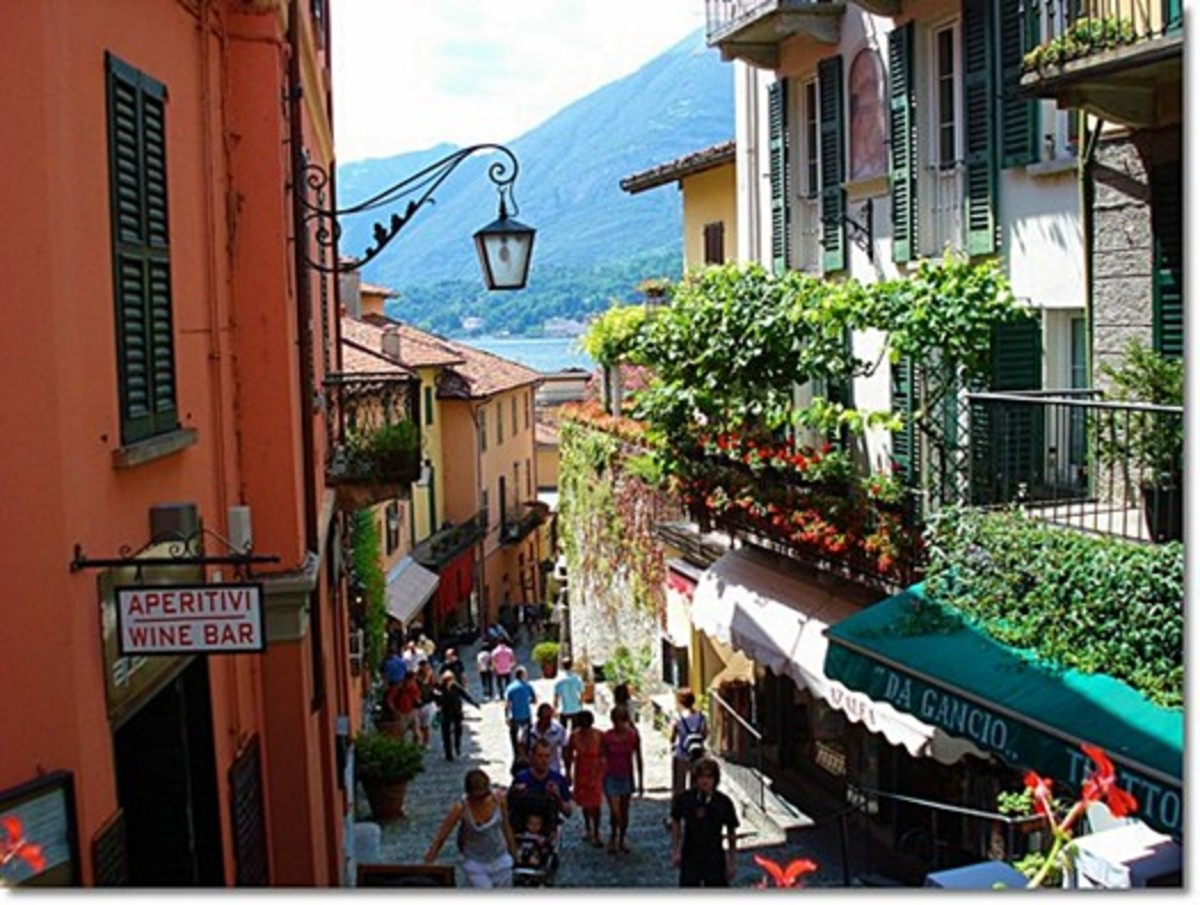 Shopping in Bellagio