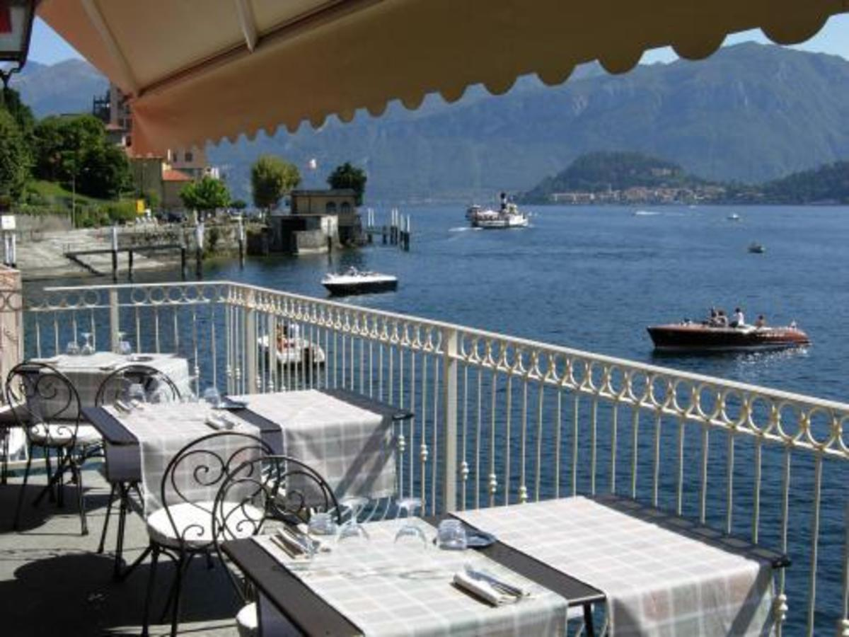 More affordable and still spectacular view from La Darsena's restaurant