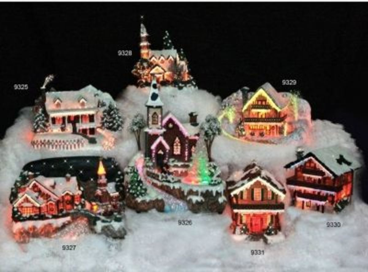 The Snow Village In Overview