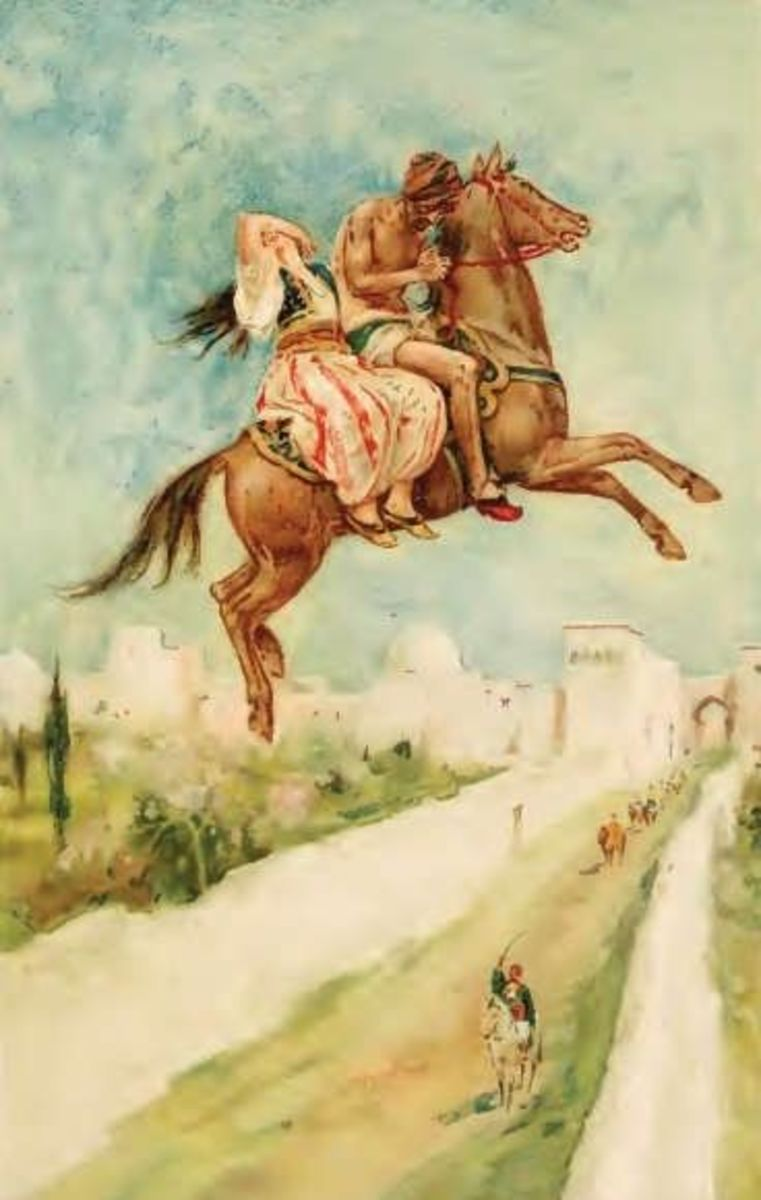 Scene from The Enchanted Horse, Walter Paget