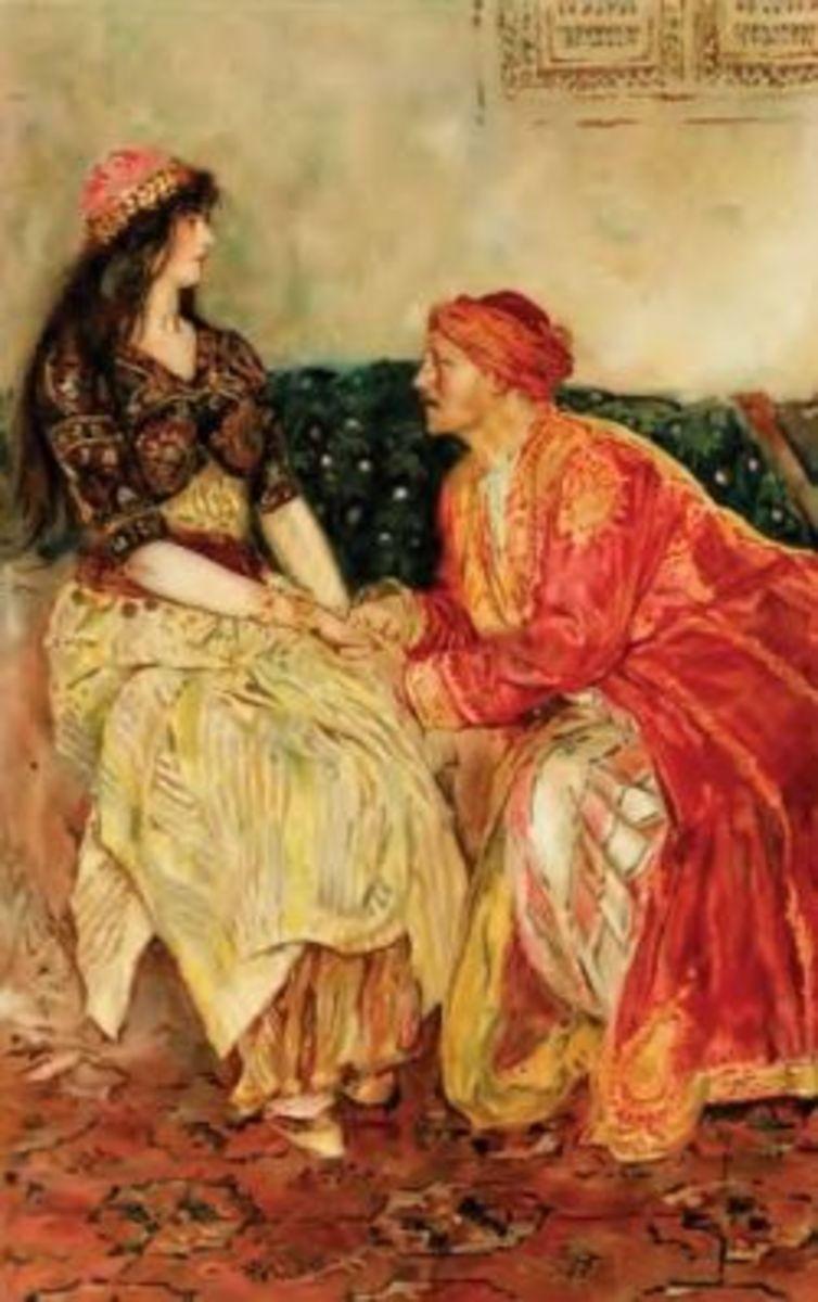 Walter Paget: Sharyar and Scheherazade