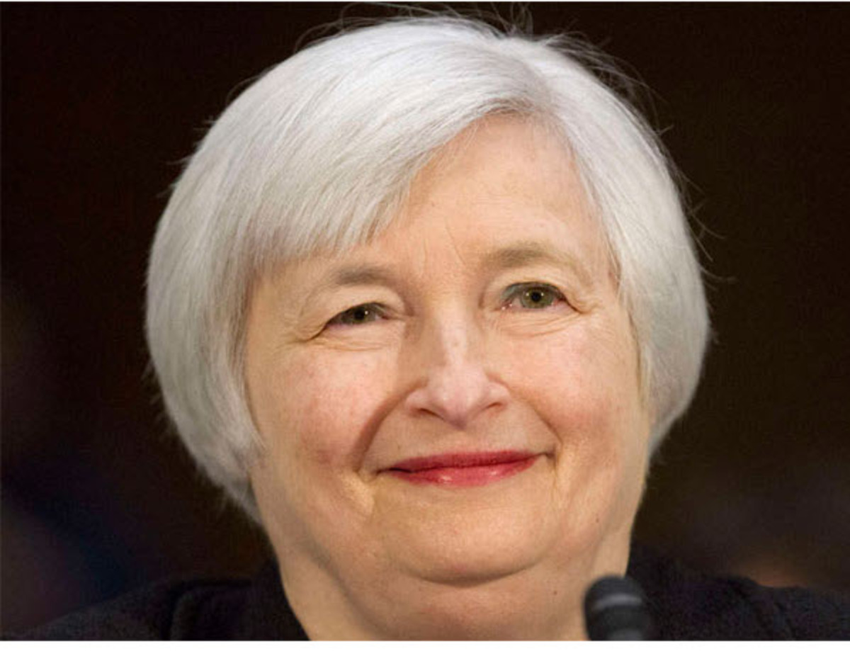 Janet Yellen  Chair of Federal Reserve, Effective 1/3/12014