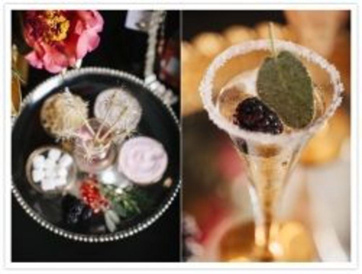 champagne bar ideas
