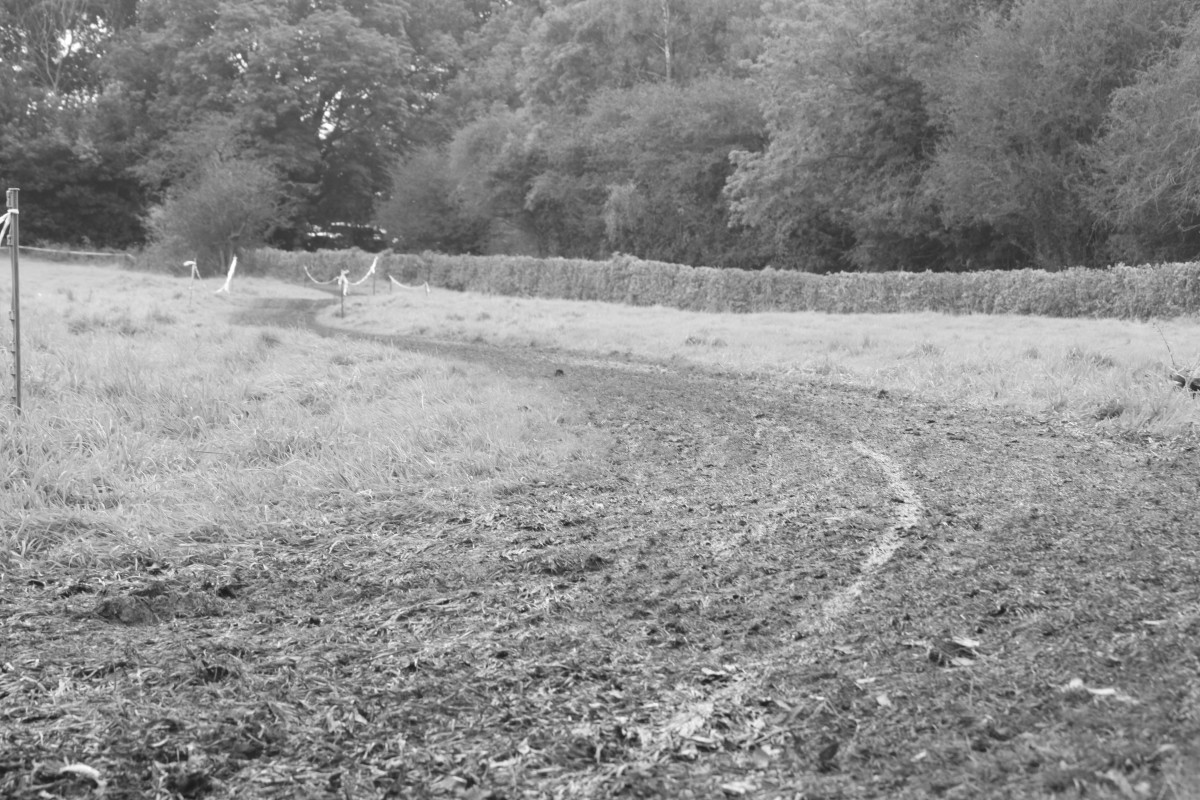 Sometimes just a track in the mud will look arty. Especially in black and white- especially when taken at ground level