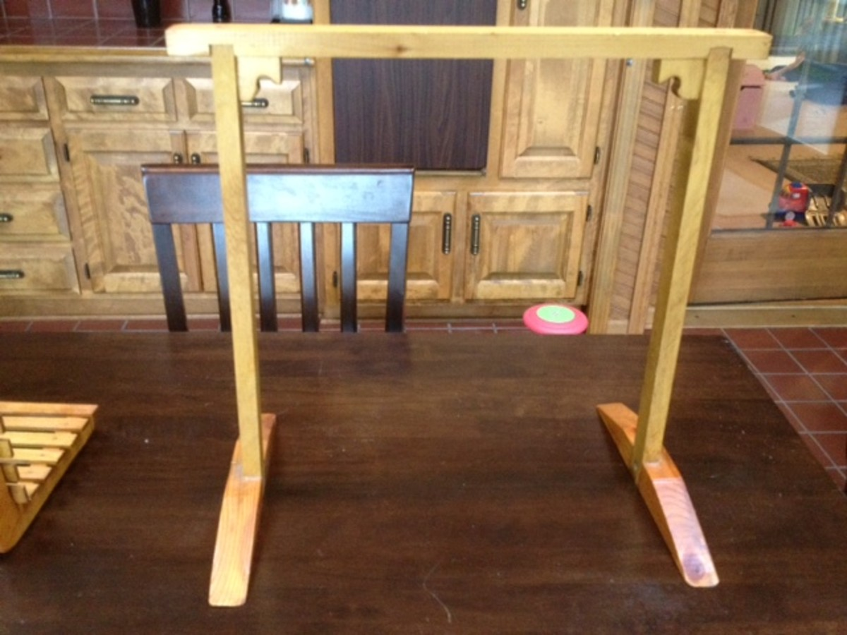 Basic mini porch swing base