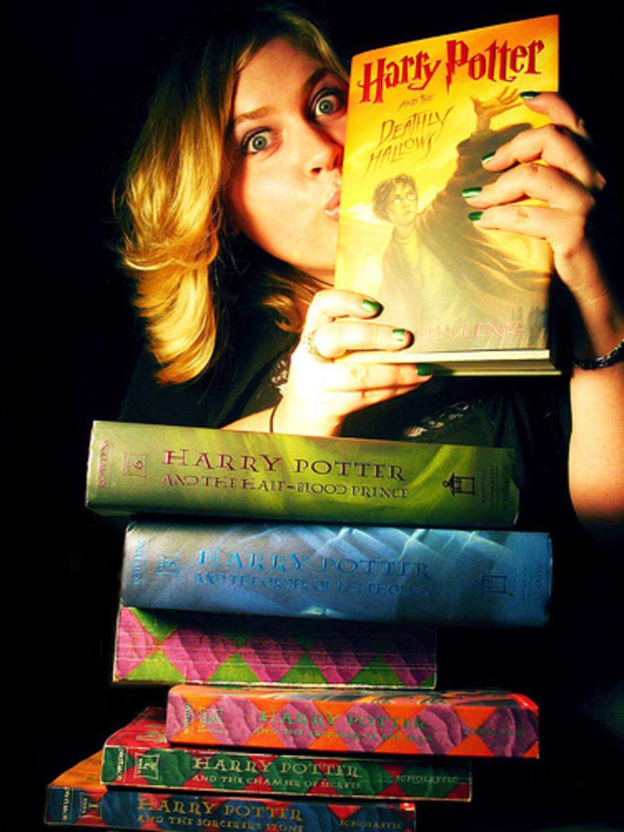 Harry Potter Books Fan