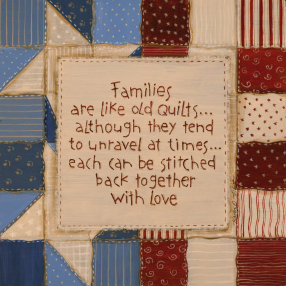 Family Quilts - Karen Tribett