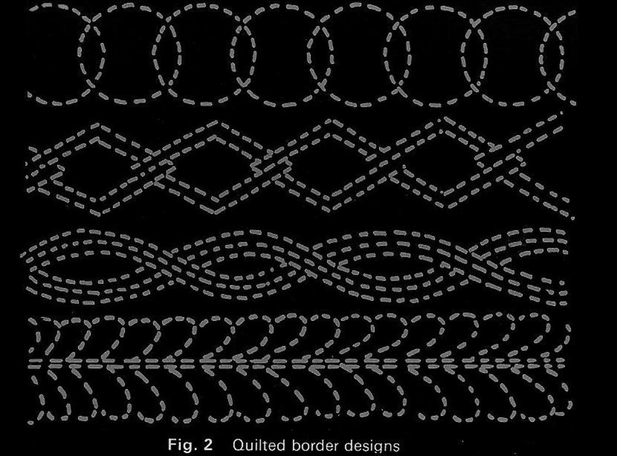 Figure 2: Quilted Border Designs