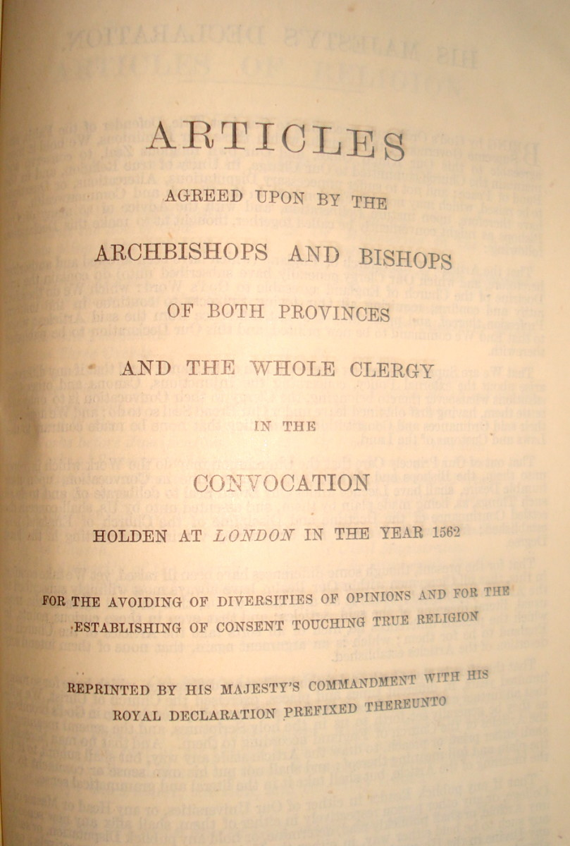 The Articles of Religion