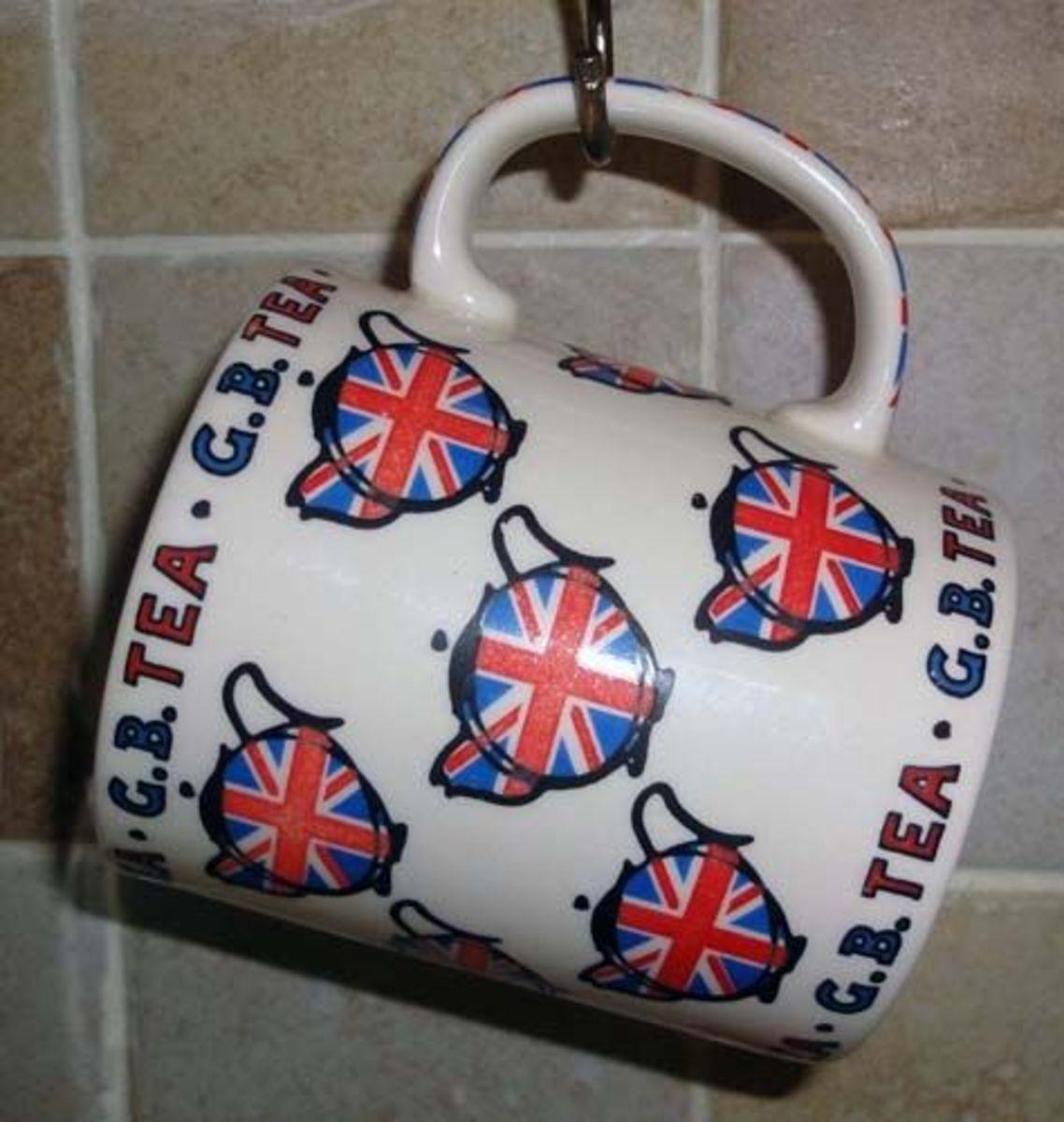 GB Tea Mug