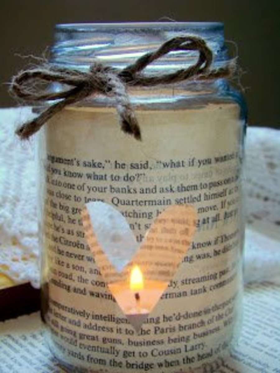 diy-book-page-mason-jar-candle-holders
