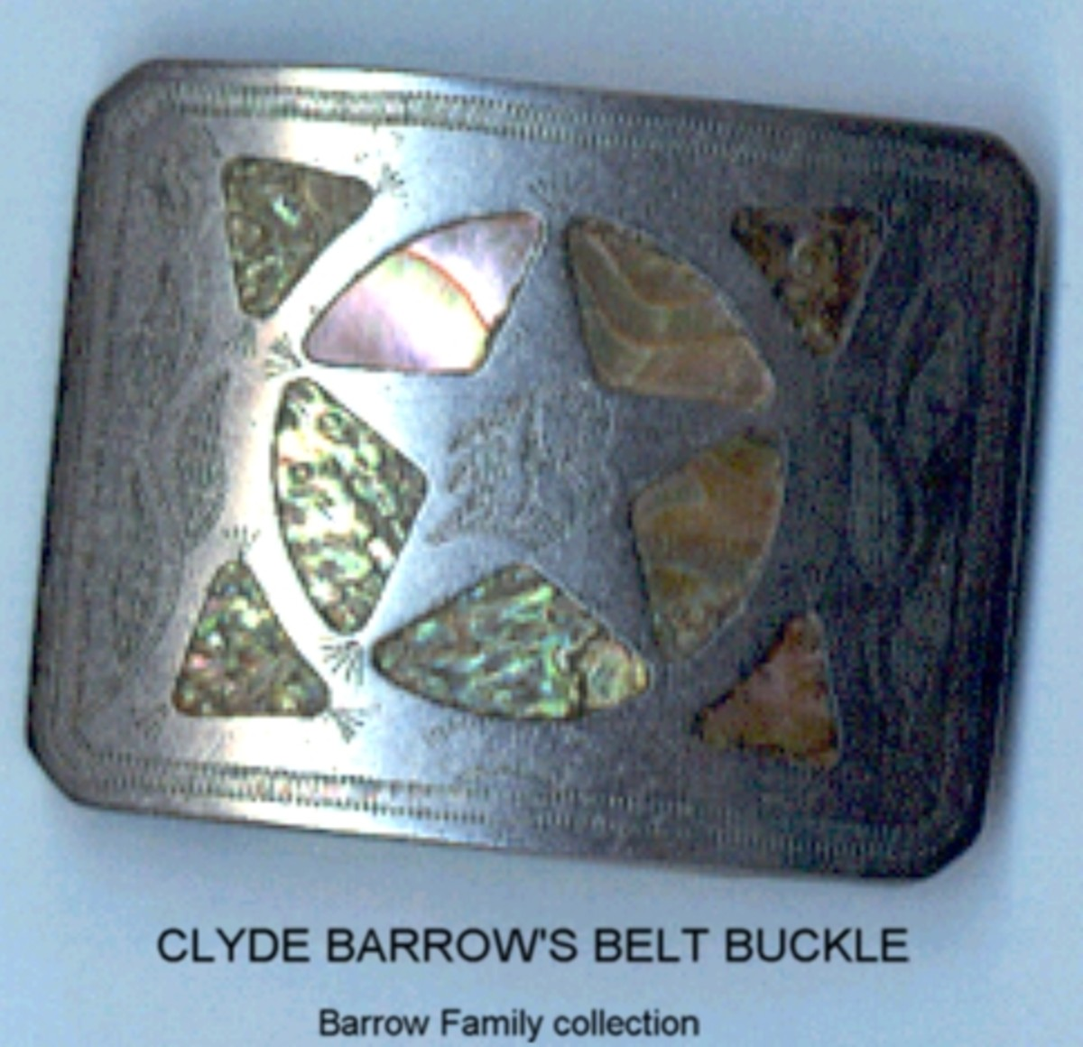 Clyde Barrow's Belt Buckle