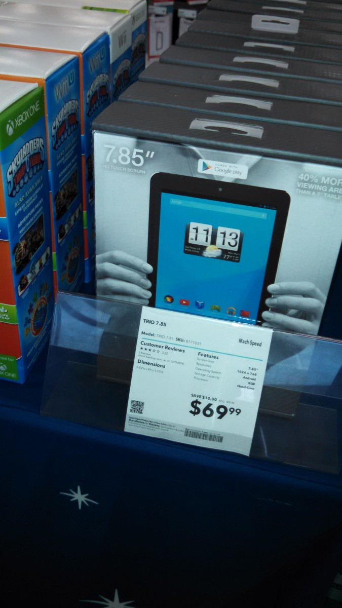 Bargain Android tablet for under $70 at Best Buy