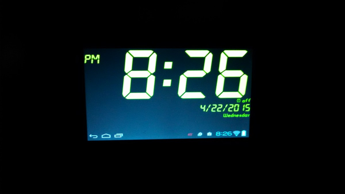 I Use My Cheap Android Tablet as an Alarm Clock
