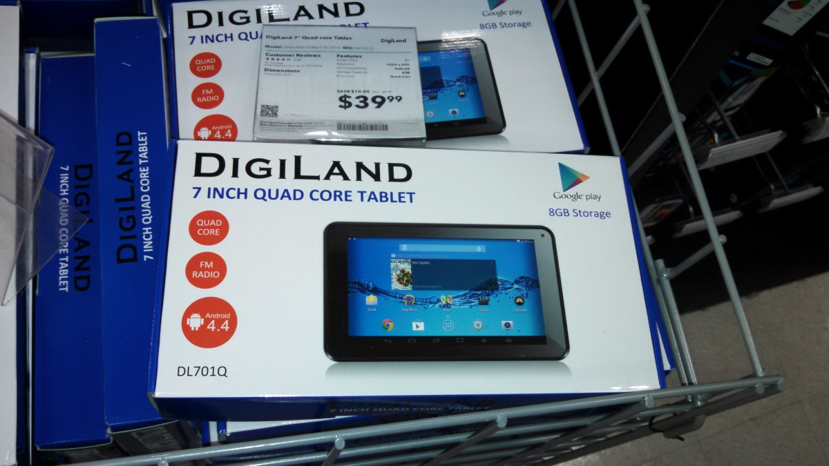 Cheap Android Tablet Under $40 at Best Buy