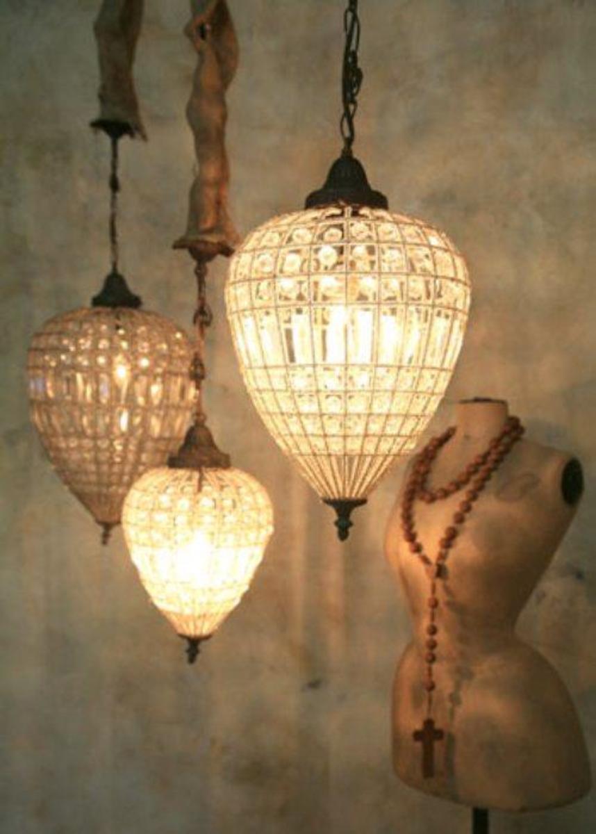Chic Lighting Fixtures Living Dining Room Astounding