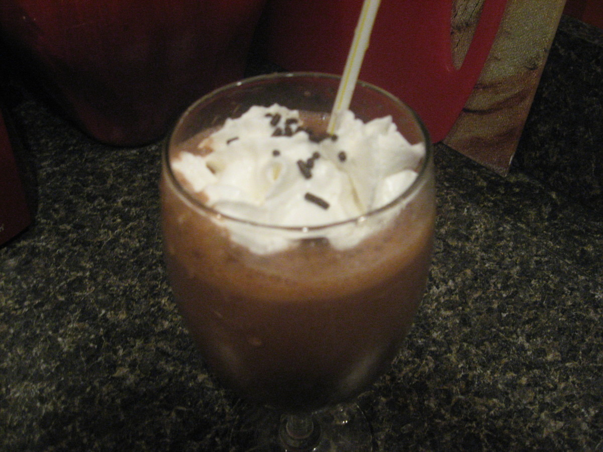 low carb chocolate shake