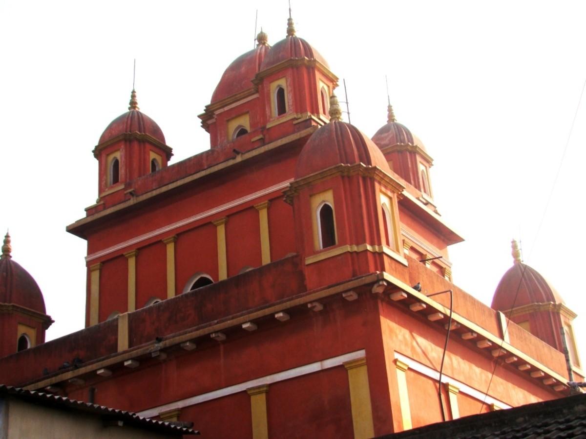 Nine-turret (Navaratna) Mahaprabhu temple, Khardah