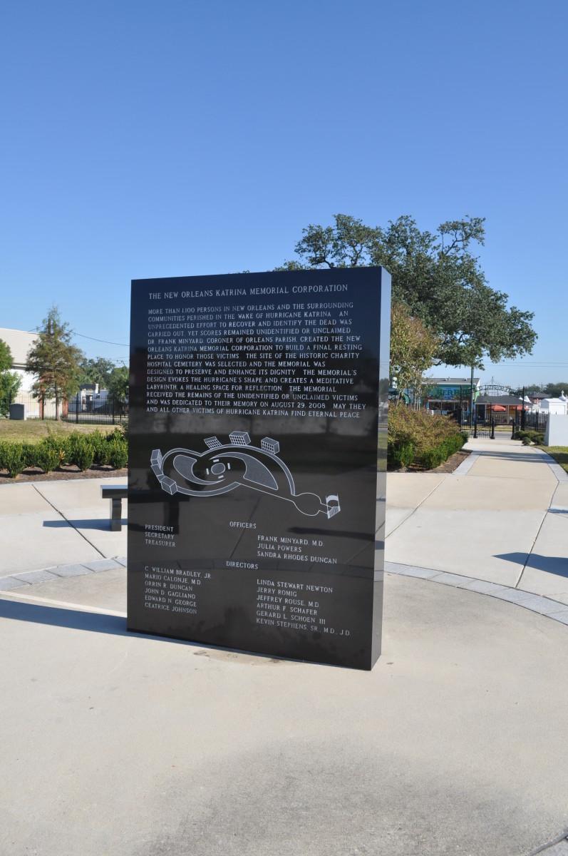 Hurricane Katrina monument
