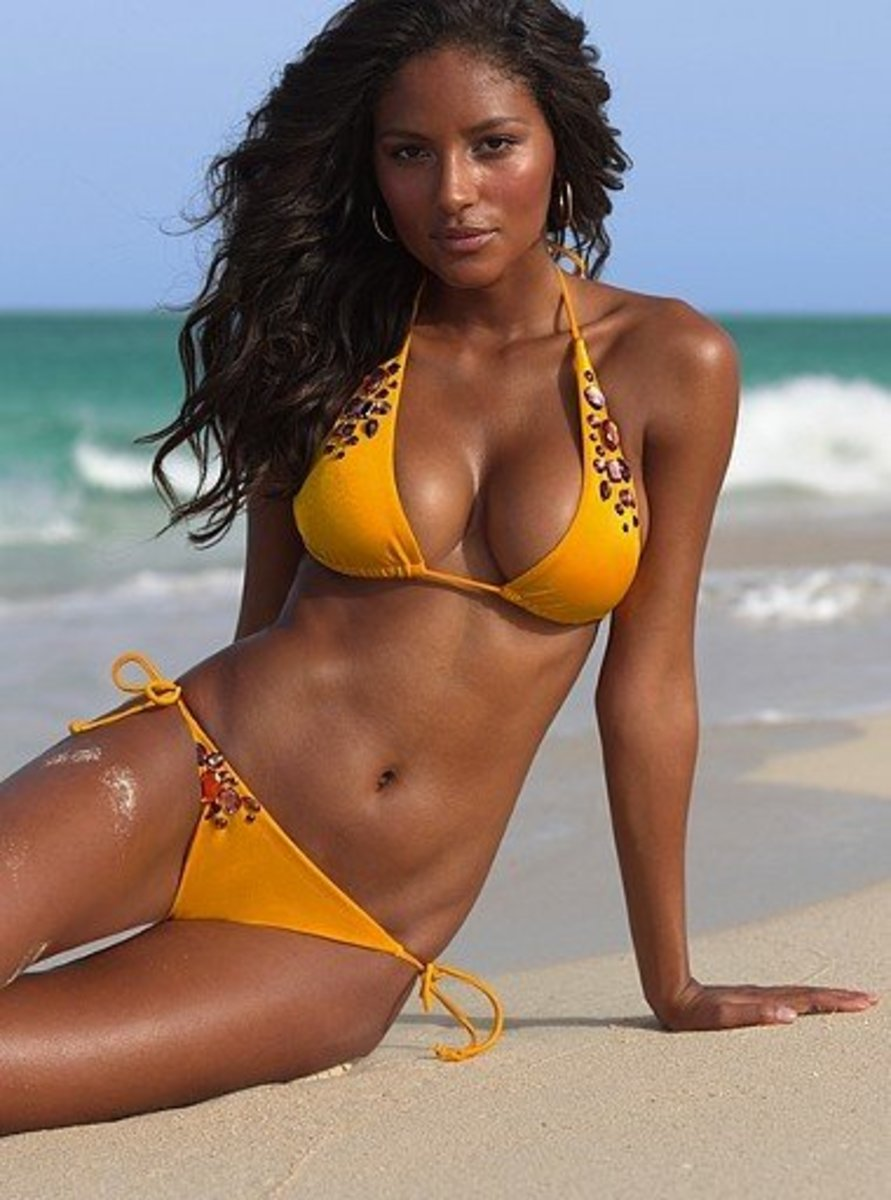 Brazilians love the beach