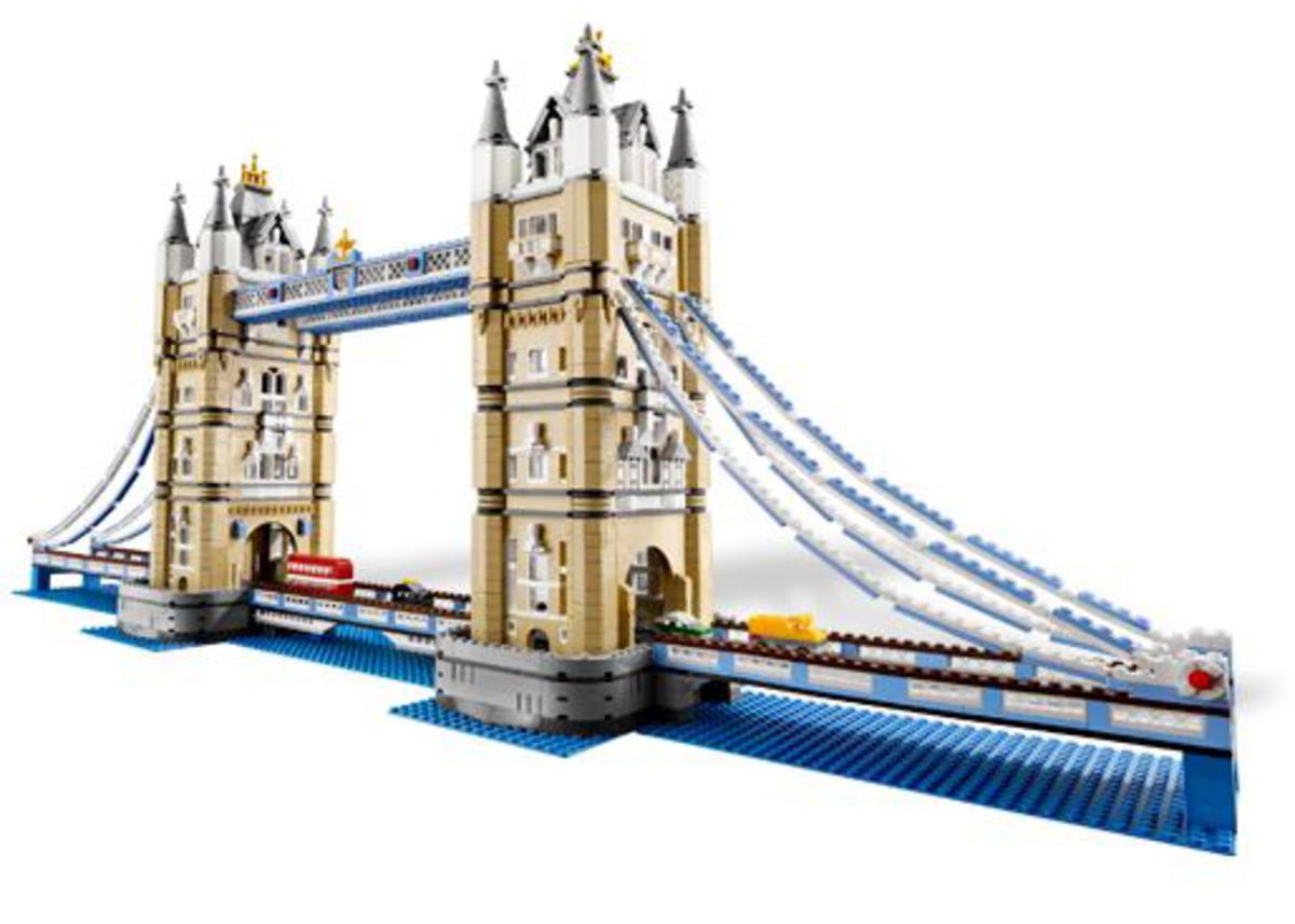 Tower Bridge (10214) Released 2010. 4,287 pieces!