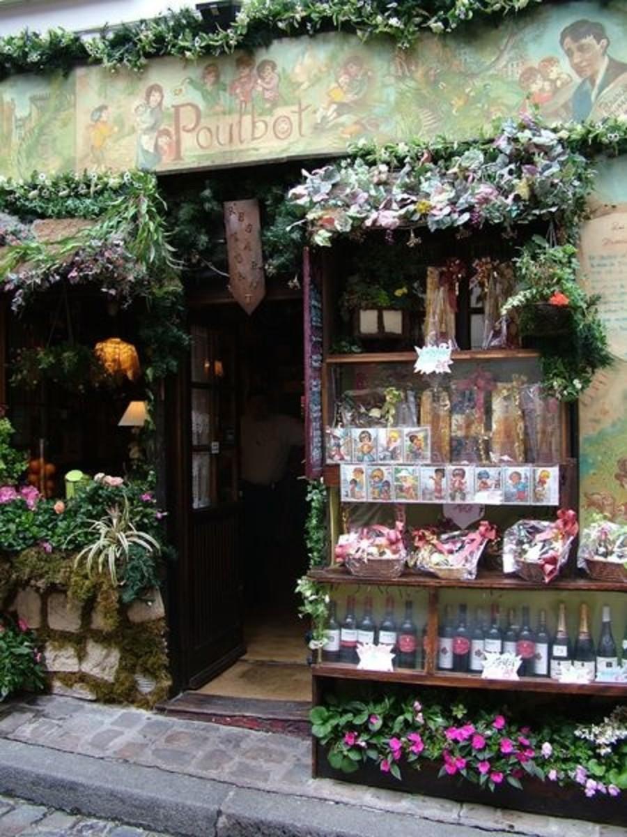 Parisian Flower Shop