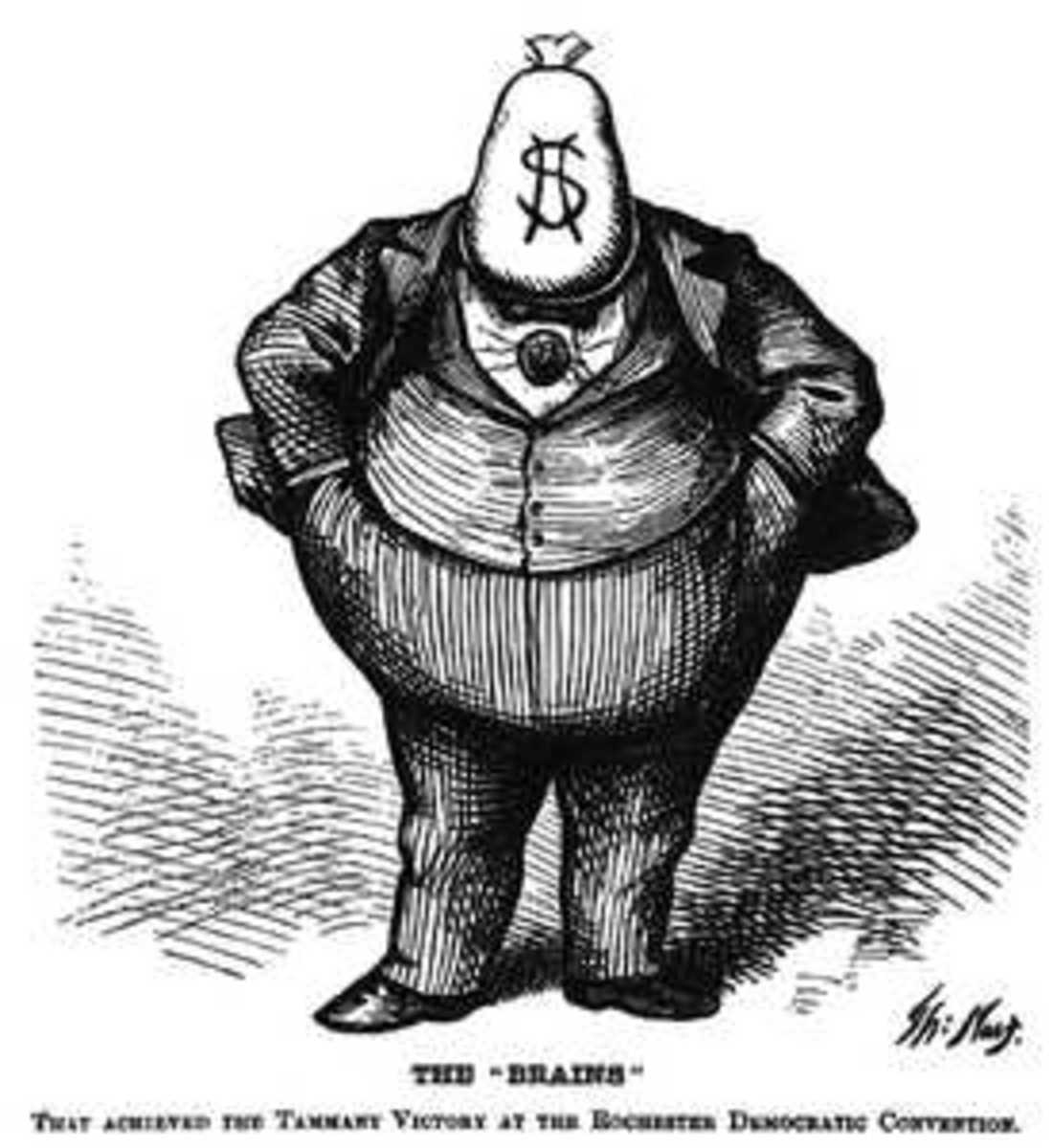 Thomas Nast's Boss Tweed Cartoon