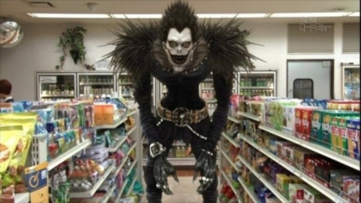 Ryuk Cosplay...Find it at the market!