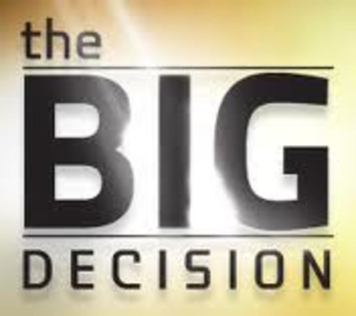 A Decision Making Process: A Decision Matrix for Problem Solving