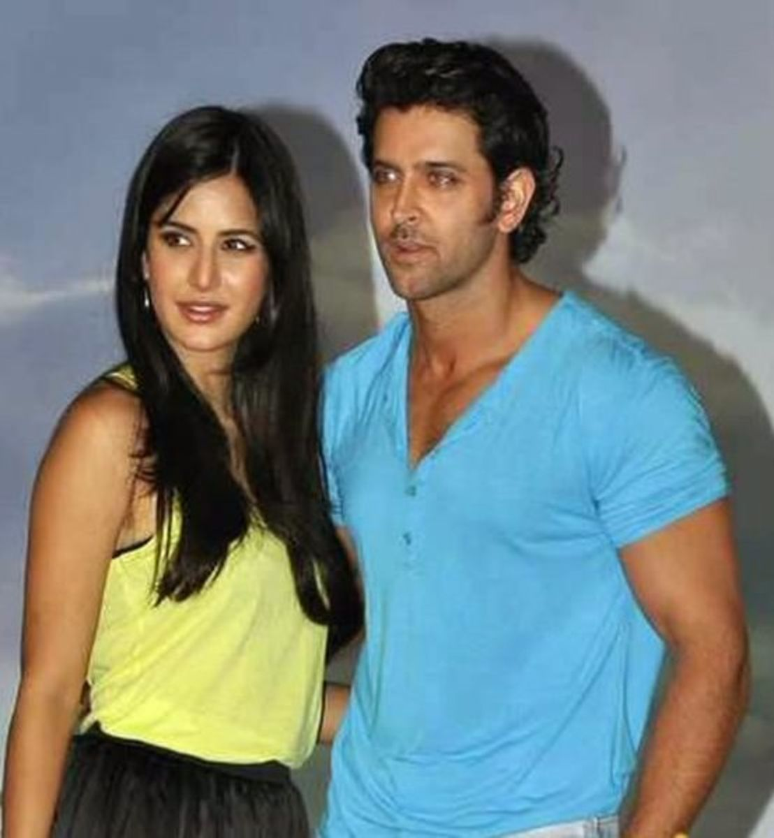 Bollywood Actress Katrina Kaif and Hrithik roshan
