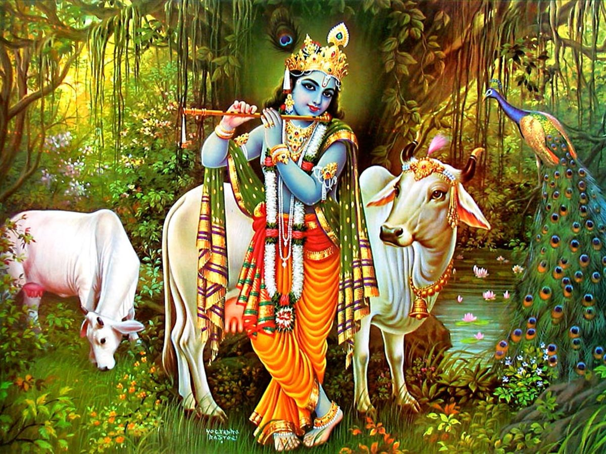 Krishna, The God of Romance