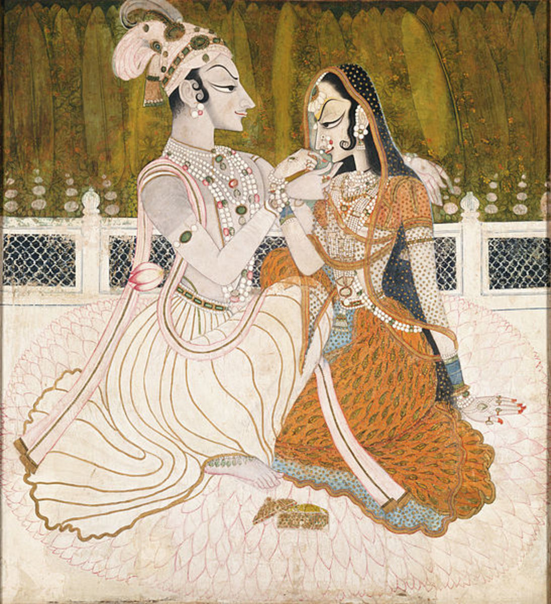 Krishna and Radha, the eternal lovers